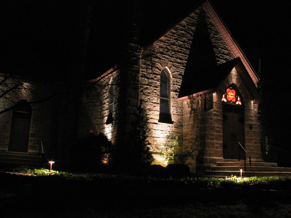 Architectural lighting Strabane Church