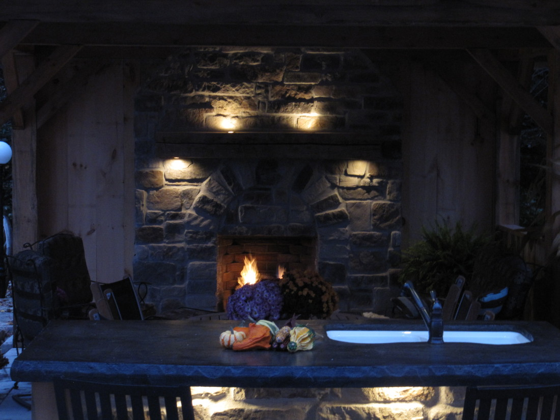 Fireplace Mantel Lighting Fergus Ontario