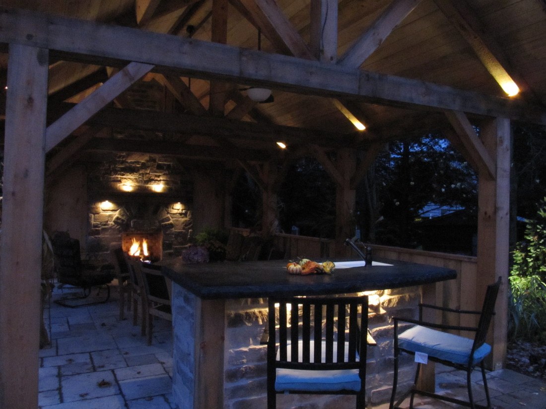 Outdoor Under Bar Lighting Fergus Ontario