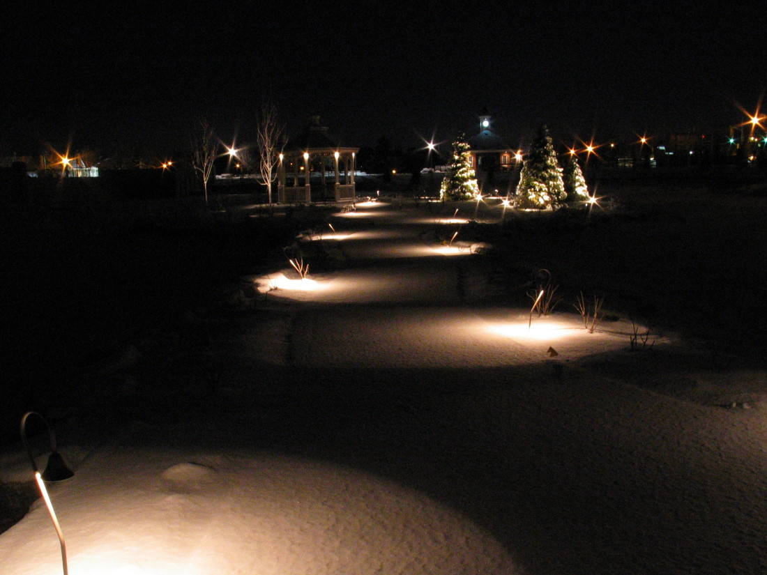 Path Lighting Guelph Ontario