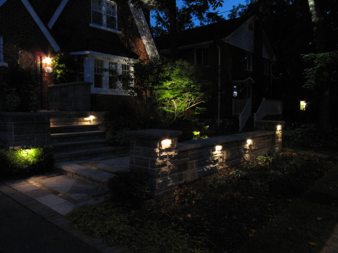 Stone Wall Lighting Guelph Ontario
