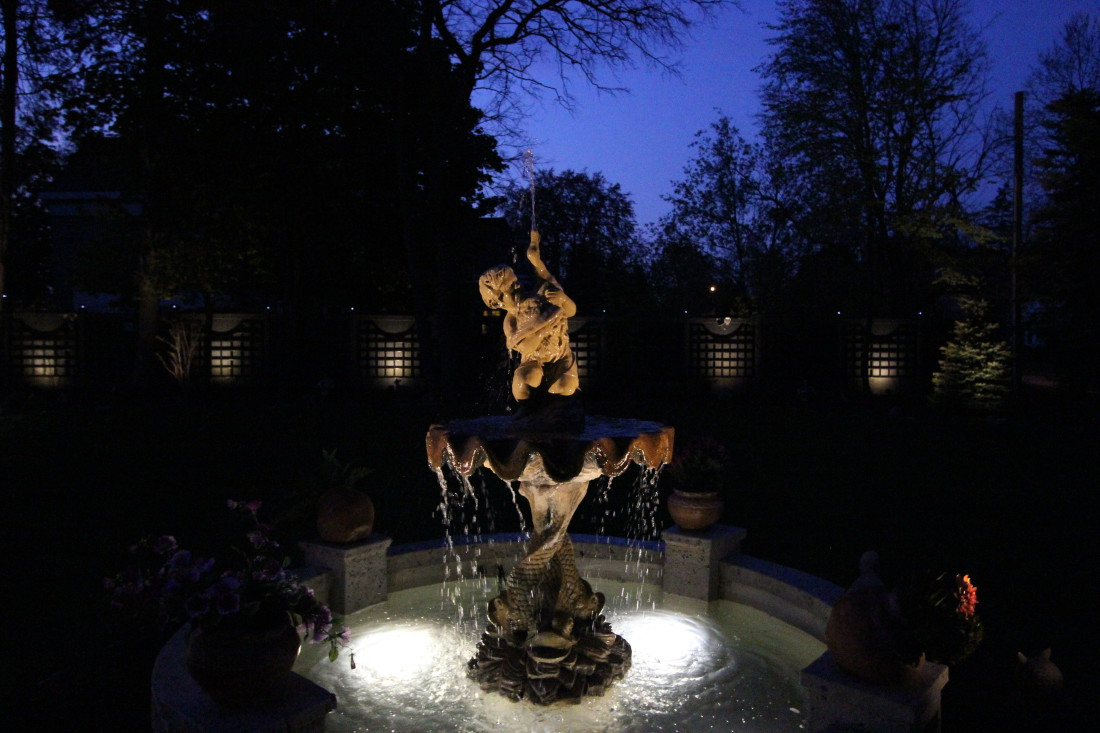 Water Feature Lighting Cambridge Ontario